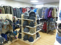 Harris Tweed Isle of Harris shop inside