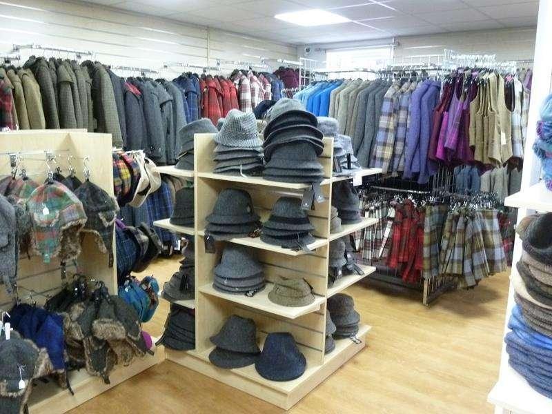 Harris Tweed Isle of Harris shop inside