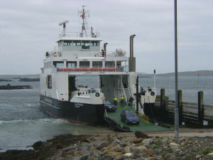 Information about the ferry and flights