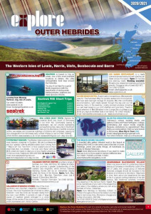 The Outer Hebrides Guide, including the Isle of Harris