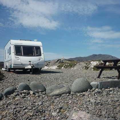 Camping on the Isle of Harris