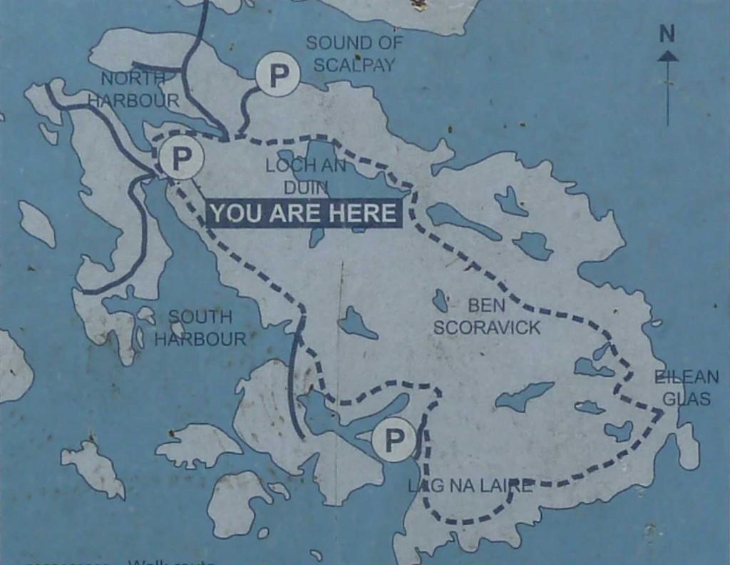 Scalpay walking map